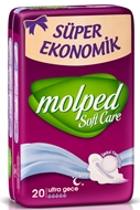 Picture of Molped Soft Care Ultra Gece 20 Adet