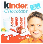 Picture of Kinder Çikolata 4 x 12,5 gr