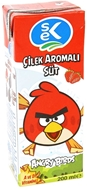 Picture of Sek Angry Birds Çilek Aromalı Süt 200 ml