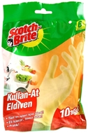 Picture of Scotch Brite Kullan-At Eldiven 10 Adet