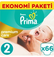 Picture of Prima Bebek Bezi Premium Care Mini Ekonomi Paketi No:2 66 Ped