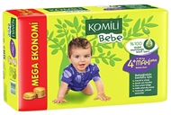 Picture of Komili Bebek Bezi Jumbo Maxi Plus No:4+ 9-20 kg 42 Ped