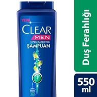 Resim CLEAR 550ML ŞAMP.DUŞ FERAHLIGI MEN