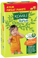 Picture of Komili Bebe 5 11-25 kg Bez 72Li Fırs.Paket Junior