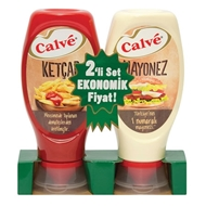 Picture of Calve Ketçap+Mayonez Orta Set 2Li Set 400 gr+350 gr