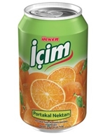 Picture of İçim Nektar Kutu Portakal 330 ml