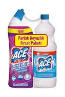 Picture of Ace Çamaşır Suyu Normal 1 lt+ 750 ml Jel Fresh