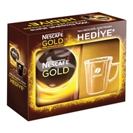 Picture of Nescafe Gold 200 gr Eko Paket+Gold Glass Fındıkcan