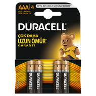 Picture of Duracell Aaa İnce Kalem Pil 4'Lü