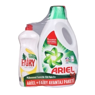 Picture of Ariel Sıvı Deterjan 2.145 Lt + Fairy 675 Ml