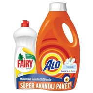 Picture of Alo Sıvı Deterjan 2.145 Lt+ Fairy 675 Ml