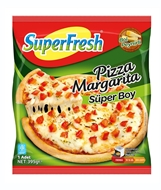 Picture of Superfresh Pizza Margarita Süperboy 395 Gr