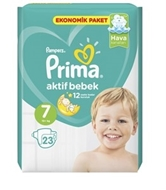 Picture of Prima Bebek Bezi Aktif Bebek No:7 XX Large 23 Lü