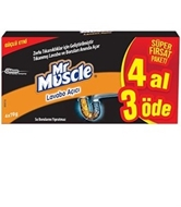 Picture of Mr Muscle Lavabo Açıcı 4 Al 3 Öde