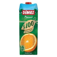 Picture of Dimes Meyve Suyu %100 Portakal 1 Lt