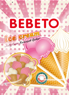 Picture of Bebeto Jelibon Ice Cream 70 Gr