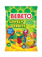 Resim Bebeto Jelibon Lovely Fruits 75 Gr