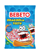 Picture of Bebeto Jelibon Dracoola Teeth 70 Gr