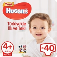 Picture of Huggies Jumbo Maxi Plus Çocuk Bezi