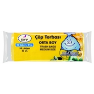 Picture of New City Çöp Torbası Orta 30 Lt