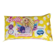 Picture of Mavi Beyaz Islak Mendil Barbie 15 Li