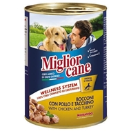 Picture of Miglior Köpek Konserve Tavuk Hindi 405 Gr