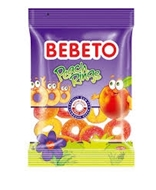 Picture of Bebeto Peach Rings 80 Gr
