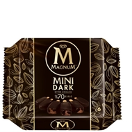 Picture of Magnum Mini Dark Bitter Çikolatalı  360 Ml