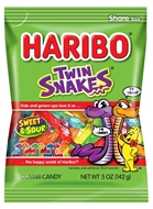 Picture of Haribo Twin Snakes 80 Gr