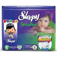 Resim Sleepy Sensitive Külot Bez Pepe Maxi Plus No:5 26 Lı