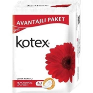 Resim Kotex Ultra Quadro Normal Ekonomik Paket 30 Lu