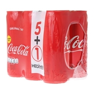 Picture of Coca Cola Kutu Orijinal 6 X 250 Ml