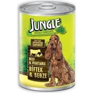 Picture of Jungle Köpek Biftekli Sebzeli Konserve 415 Gr