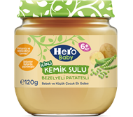 Picture of Hero Baby Kemik Sulu Bezelye Patates 120 Gr