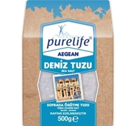 Picture of Purelife Aegean Deniz Sofra Tuzu 500 Gr