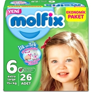 Picture of Molfix Jumbo Extra Large No:6 26 Lı