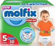 Picture of Molfix Külot Bez Junior No:5 30 Lu