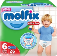 Picture of Molfix Külot Bez Large No:6 26 Lı