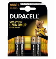 Picture of Duracell 4 Lü Plus İnce Pil 4 Adet