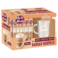 Resim Cafe Crown White Chocolate Mocha 16 Lı