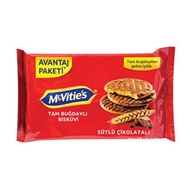 Resim Mcvities Digestive Milk Chocolate Covered 205 Gr