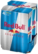 Picture of Red Bull Sugarfree 4*250 Ml