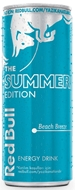 Resim Red Bull Enerji İçeceği Beach Breeze 250 Ml