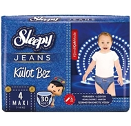 Picture of Sleepy Jeans Külot Bez No:4 Maxi (7-14 Kg) 30 Adet