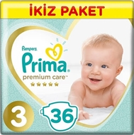 Picture of Prima Premium Care No 3 İkiz Eko Midi  36 Adet