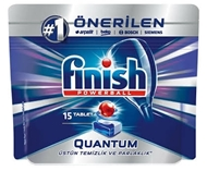Picture of Finish Powerball Quantum Otomatik Bulaşık Makinesi Deterjanı 328 Gr 15 Tablet