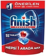 Picture of Finish Powerball Hepsi 1 Arada Otomatik Bulaşık Makinesi Deterjanı 1242 Gr  55 Tablet