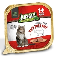 Picture of Jungle Püre Yetişkin Kedi Dana Etli 100 Gr