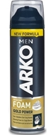 Resim Arko Men Tıraş Köpüğü Gold Power 200 Ml