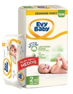 Picture of Evy Baby Mini+Islak Havlu 2 Numara 42 Li